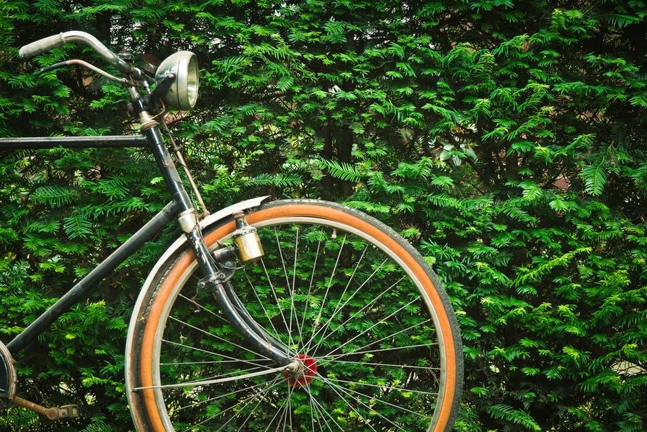 nowoczesne szprychy na kole od roweru